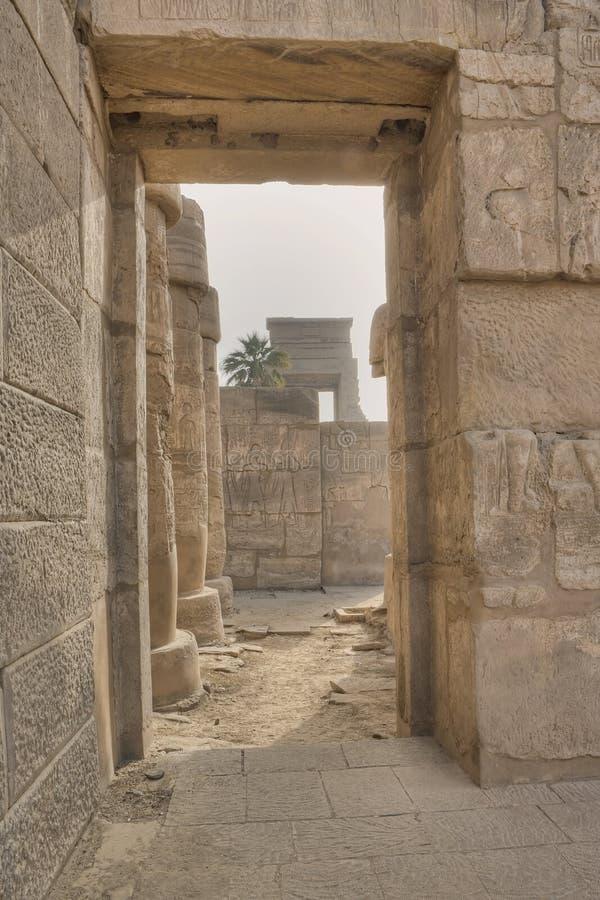 Karnak temple in Luxor. Egypt royalty free stock photo
