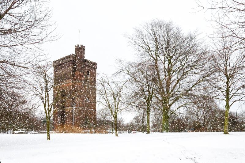 Karnan w Helsingborg zimie zdjęcie stock