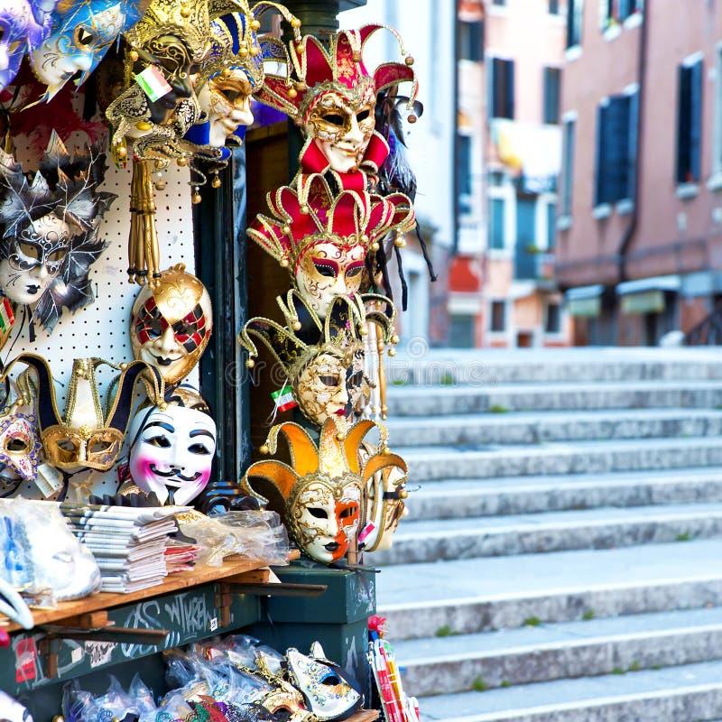 Karnawał maski w Wenecja obrazy stock