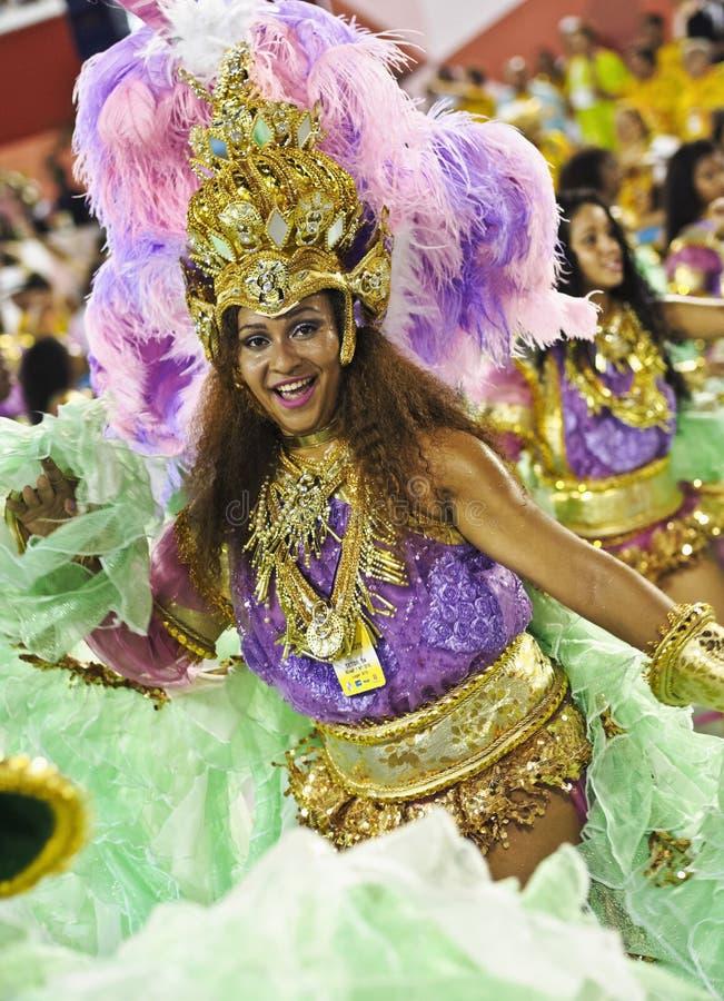 Karnawał w Rio De Janeiro zdjęcie royalty free
