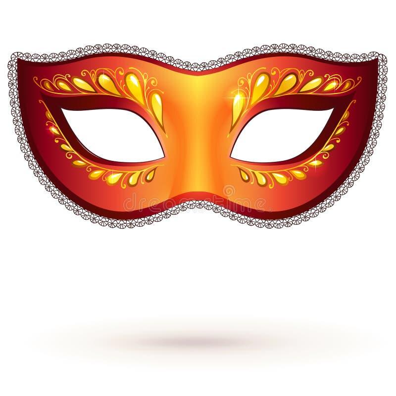 Karnawał wektorowa venitian maska ilustracji