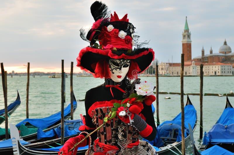 karnawał Wenecja, Włochy zdjęcie stock