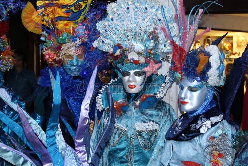 Karnawał Wenecja - Wenecka maskarada zdjęcie royalty free