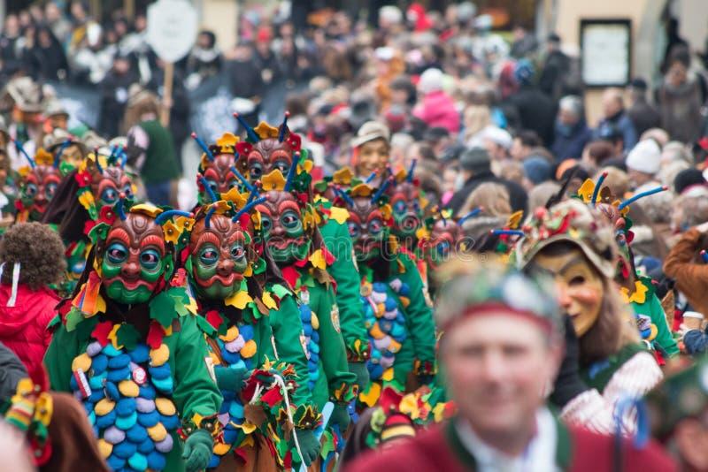 Karnawałowa parada zdjęcie royalty free