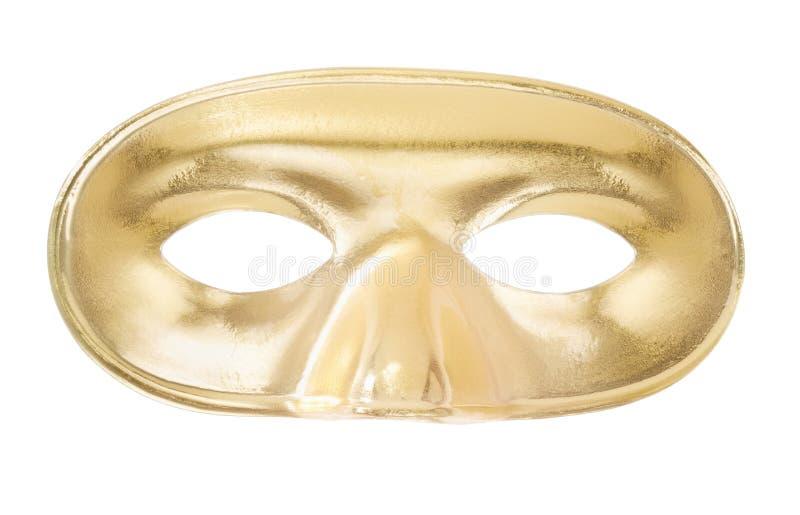 karnawałowa złota maska obrazy royalty free