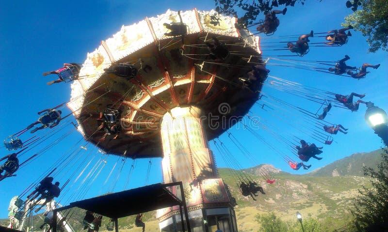 Karnawałowa zabawa w słońcu zdjęcie stock