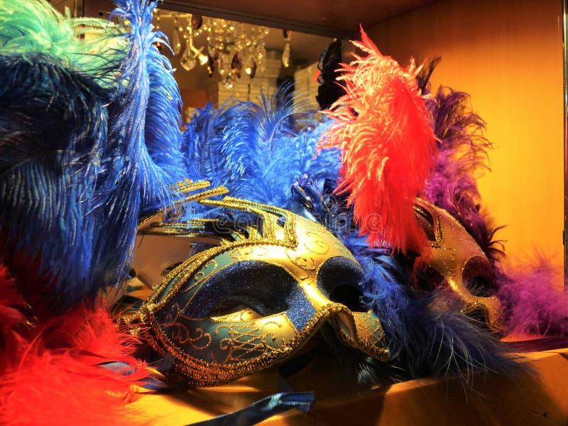 karnawałowej dekoraci sławny Italy maskowy tradycyjny venezia Venice zdjęcie royalty free