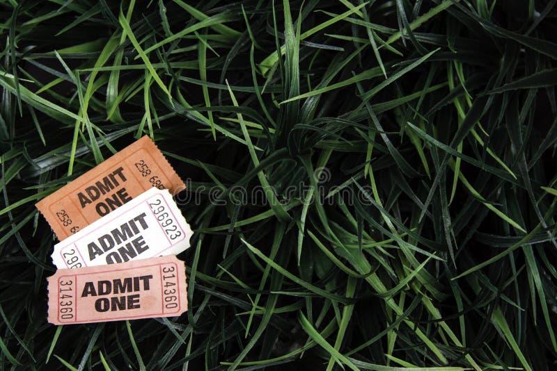 Karnawałowi bilety zdjęcie stock