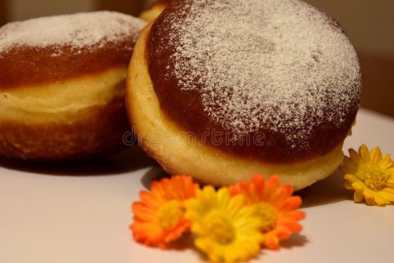 Karnawałowi donuts zdjęcia royalty free