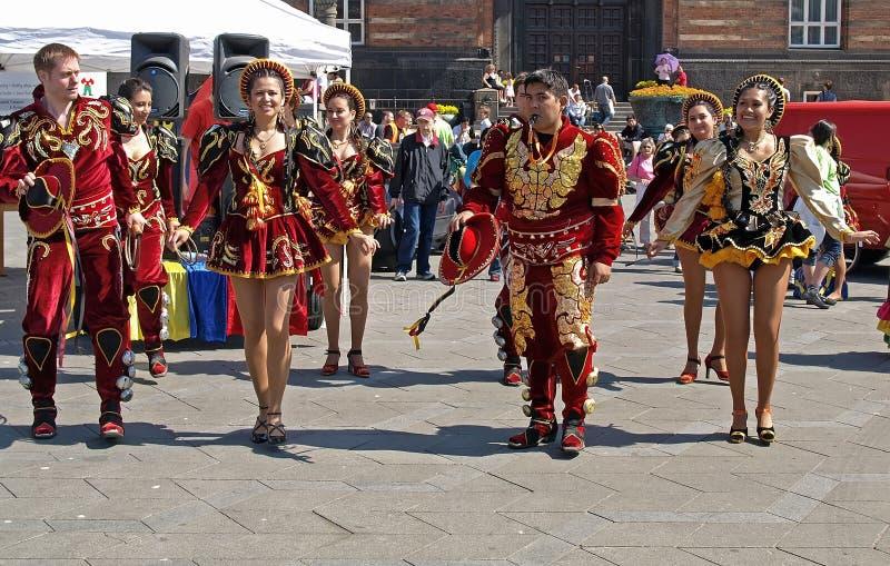 karnawałowy Copenhagen obrazy royalty free