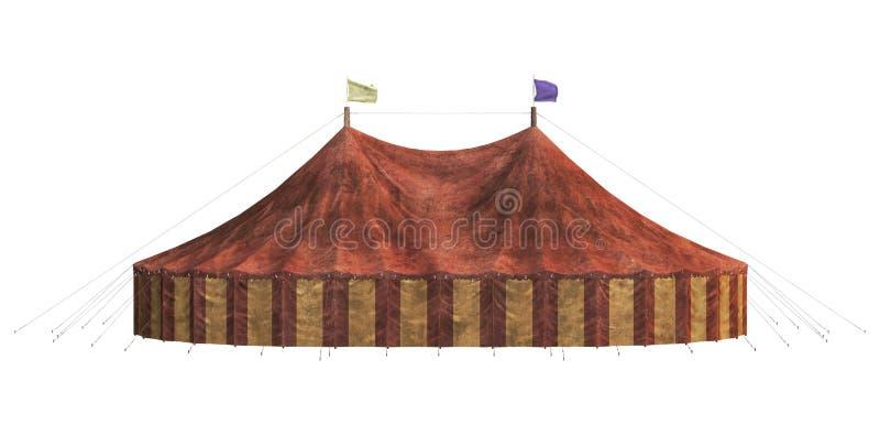 Karnawałowy namiot royalty ilustracja