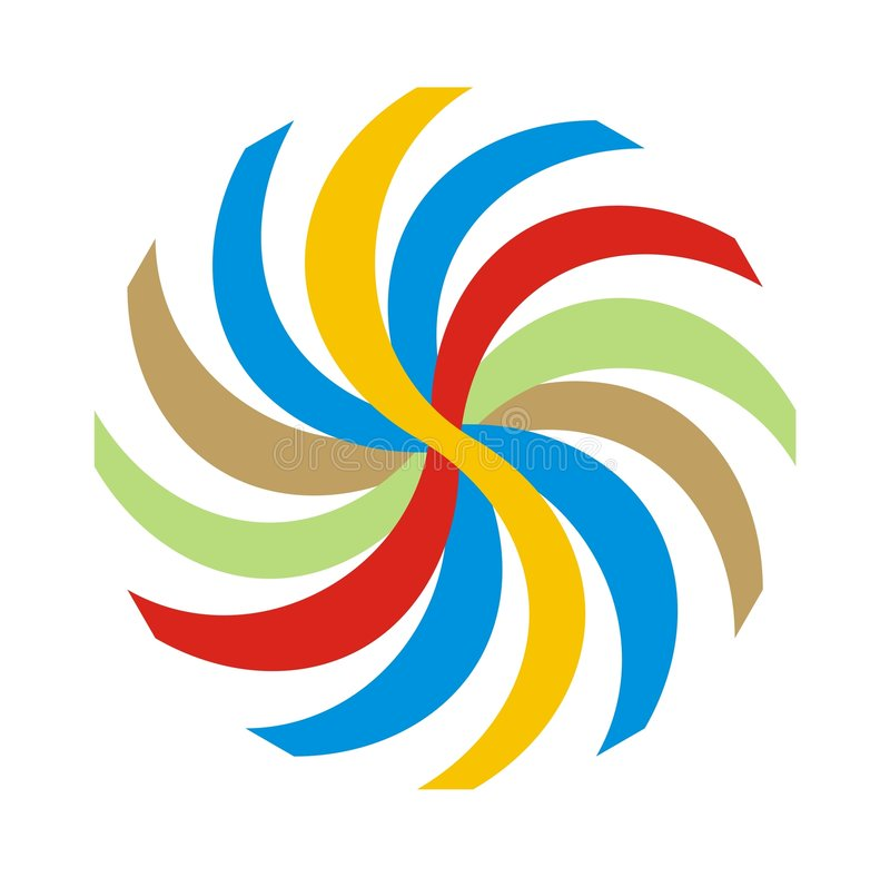 karnawałowy powystawowy logo ilustracja wektor