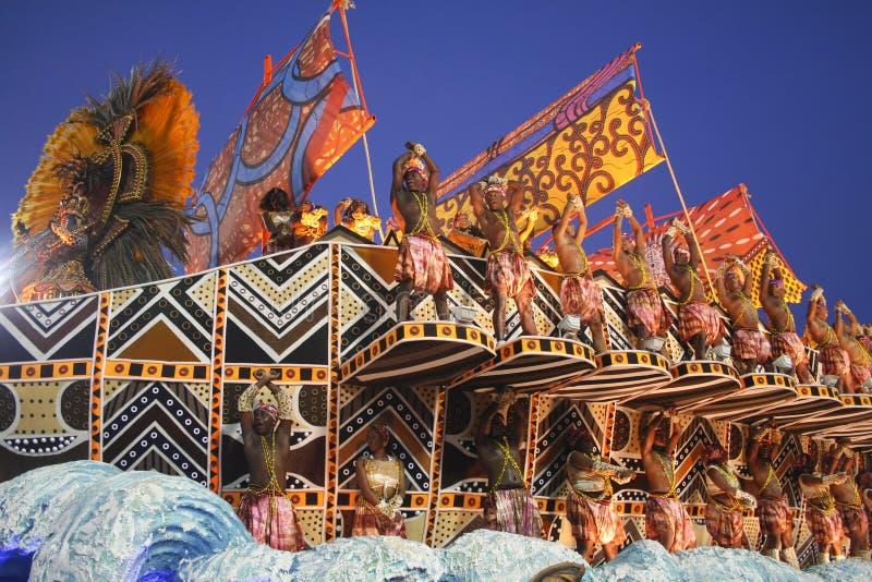 KARNAWAŁOWY RIO DE JANEIRO - FEBRUARY20 obrazy royalty free
