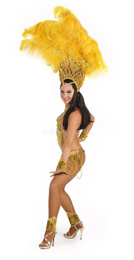 karnawałowy tancerzem. obrazy stock