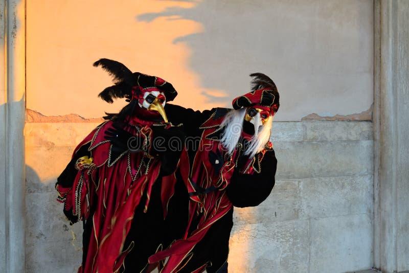 karnawałowy Venice zdjęcia royalty free