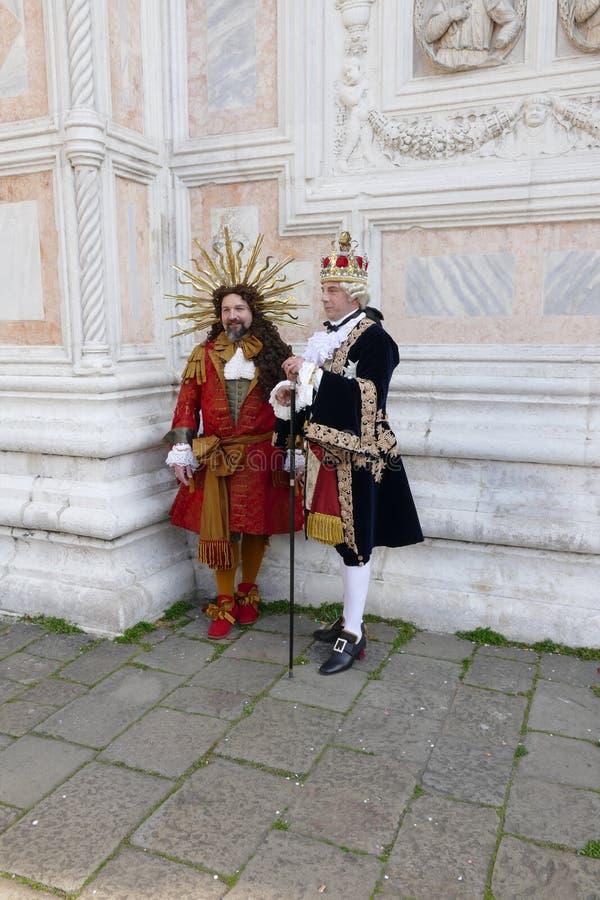 Karnawa? 2019 w Wenecja W?ochy zdjęcie stock