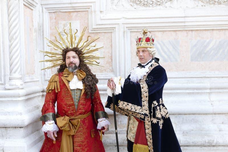 Karnawa? 2019 w Wenecja W?ochy obrazy stock