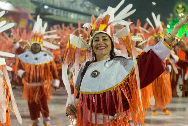 Karneval 2019 - Alegria DA Zona Sul stockbild