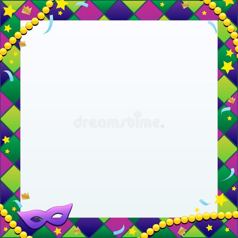 Karneval-Hintergrund stock abbildung
