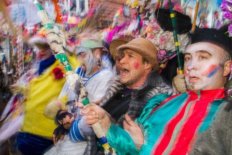 Karneval i Dunkirk, Frankrike fotografering för bildbyråer