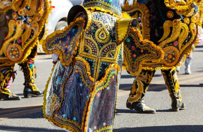Karneval i Peru royaltyfria bilder
