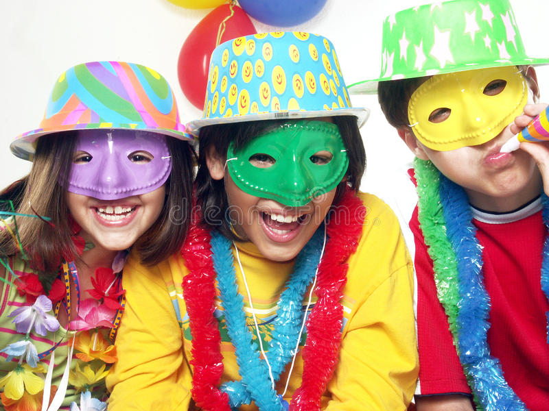 Karneval Kidds. lizenzfreies stockfoto