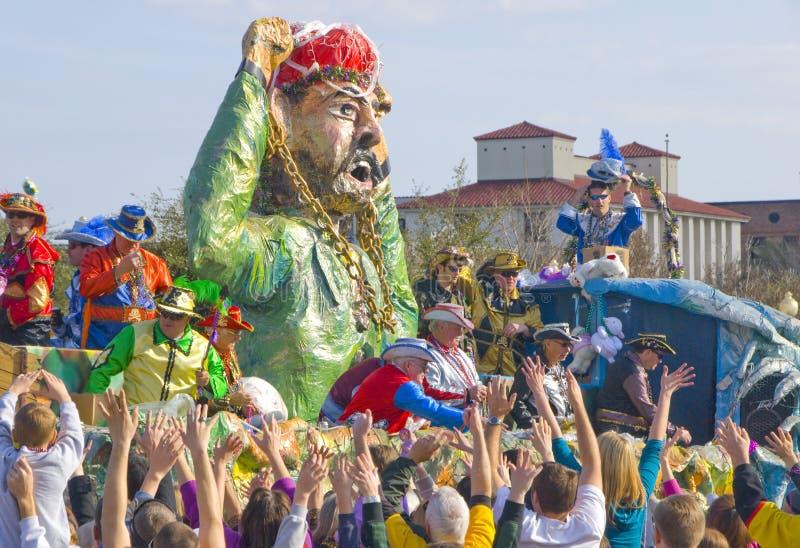 Karneval-Parade stockbilder