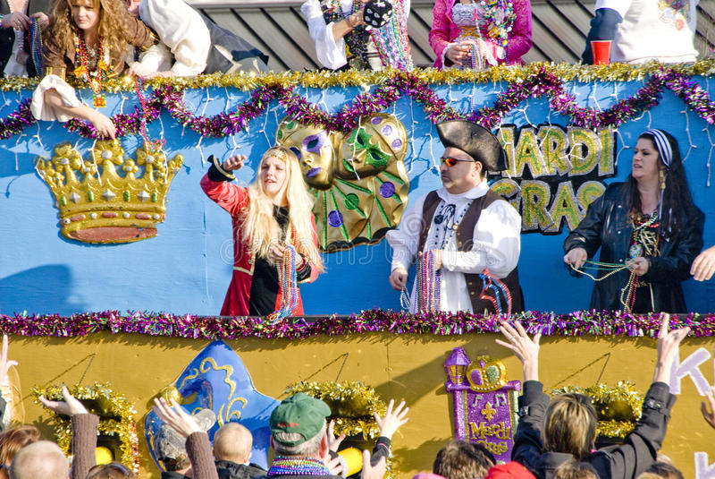 Karneval-Parade stockfoto