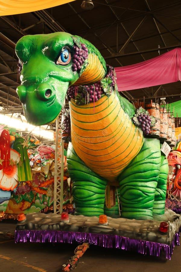 Karneval-Parade-Hin- und Herbewegung stockfotos