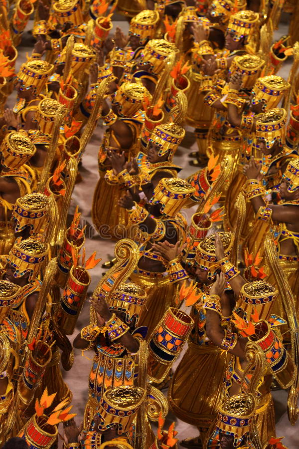 karneval rio arkivfoton