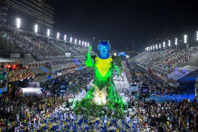 Karneval 2014 - Rio de Janeiro royaltyfria bilder