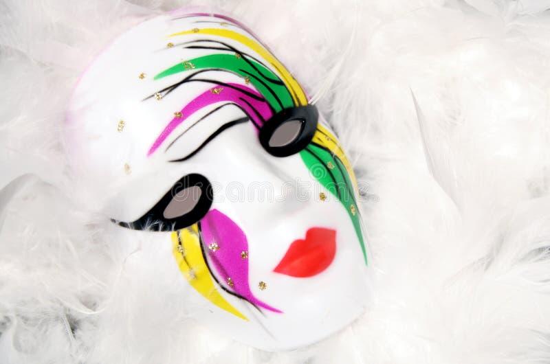 Karneval-Schablone lizenzfreie stockfotos