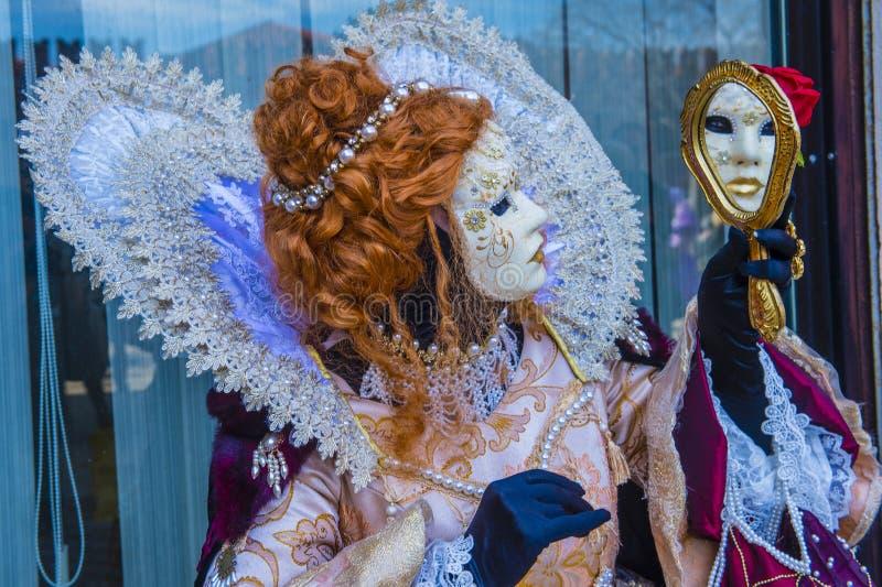 Karneval in Venedig 2019 lizenzfreie stockbilder