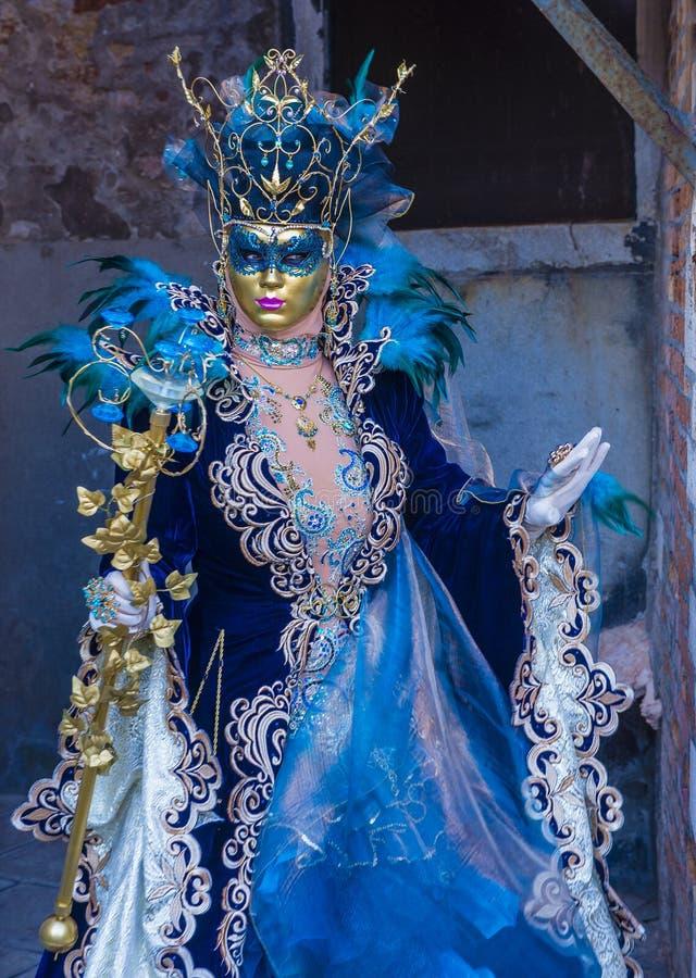 Karneval in Venedig 2019 stockfoto