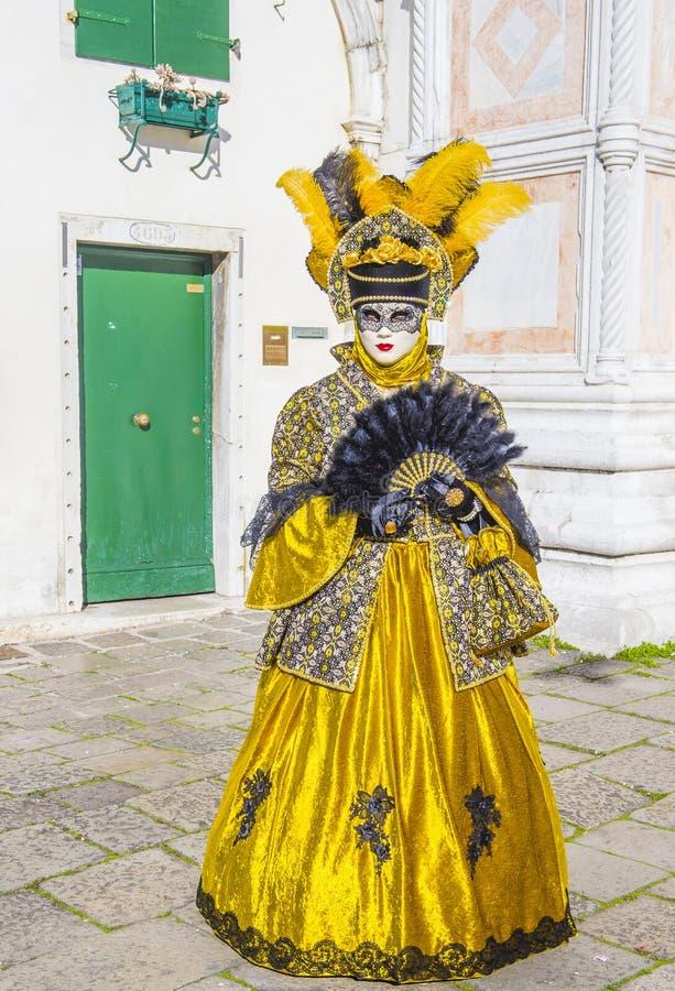 Karneval in Venedig 2019 stockfotografie