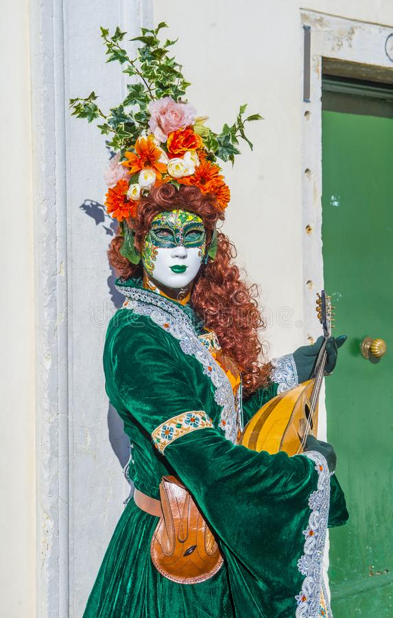 Karneval in Venedig 2019 lizenzfreie stockfotos
