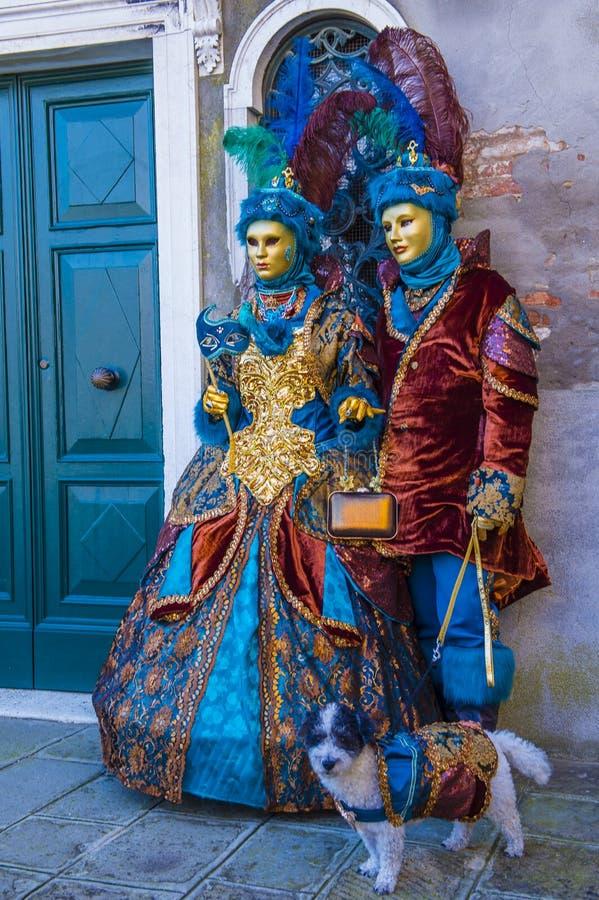 Karneval in Venedig 2019 stockfotos