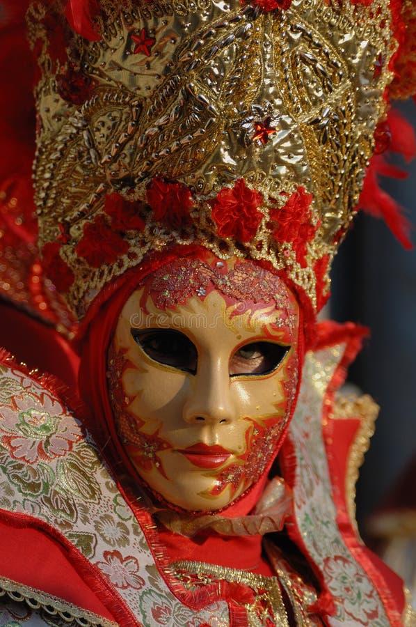 Karneval venice 28 royaltyfri bild