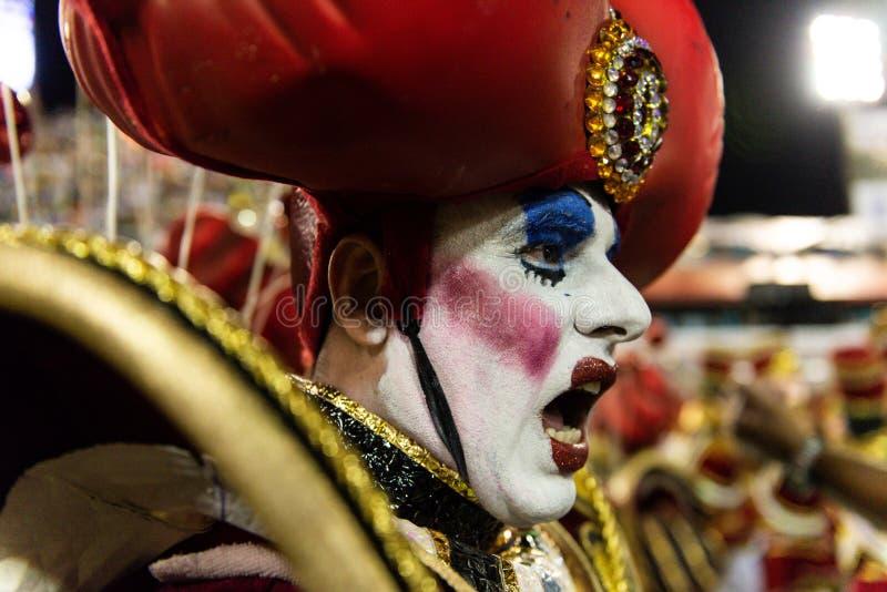 Karneval 2019 - Viradouro lizenzfreie stockfotografie