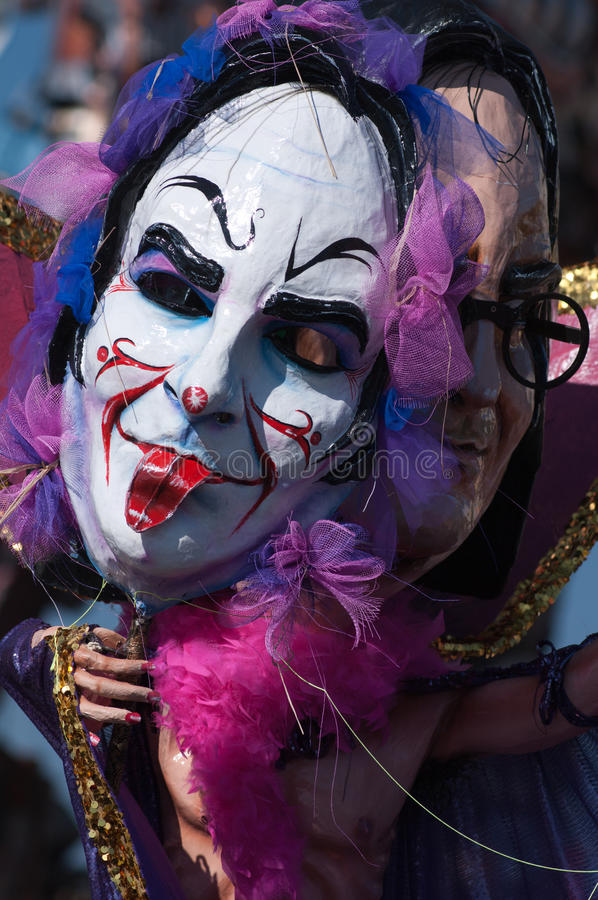 Karneval von Viareggio 2011, Italien stockfotografie