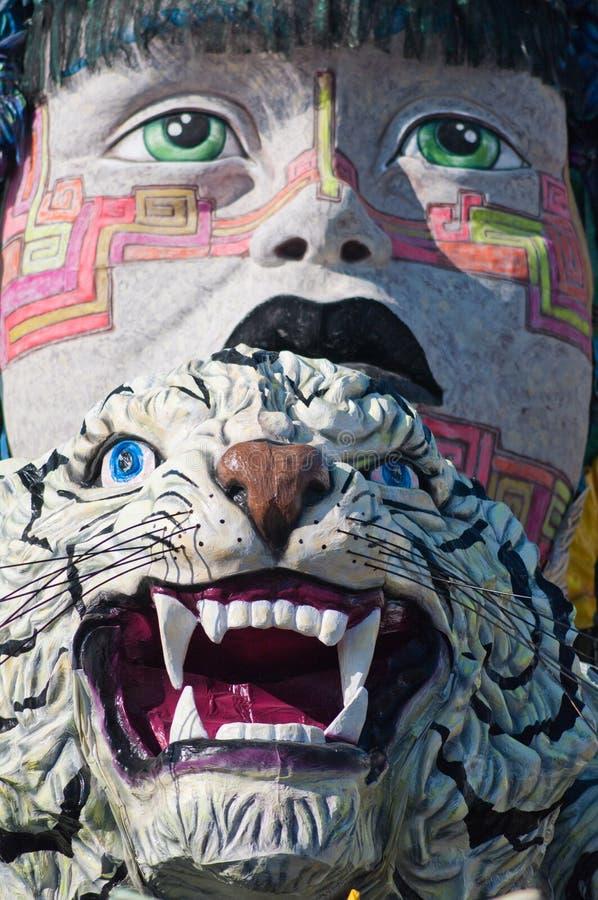 Karneval von Viareggio 2011, Italien lizenzfreie stockfotografie