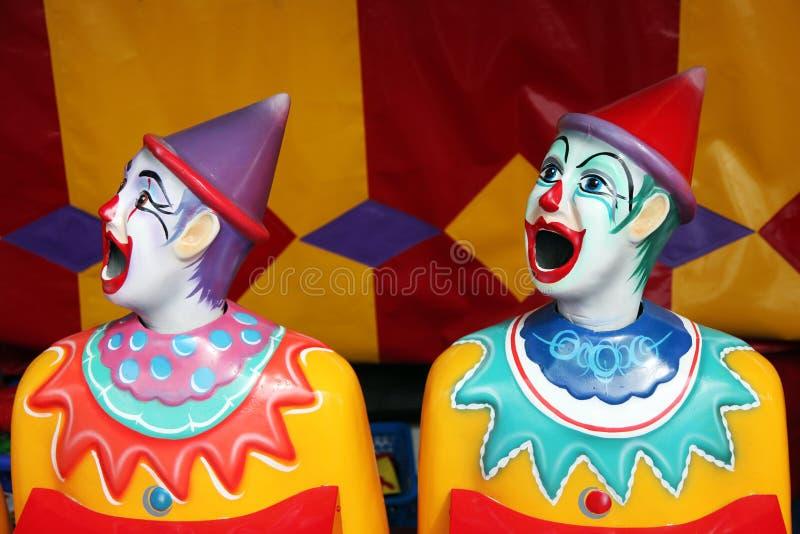karnevalclownrad fotografering för bildbyråer