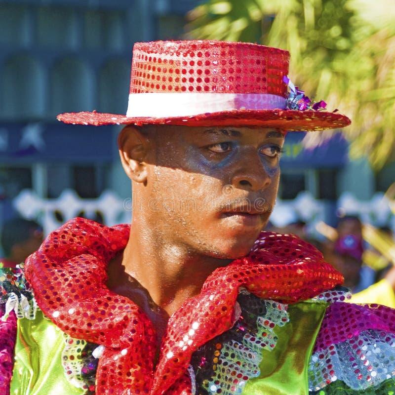 karnevaldansare royaltyfri bild