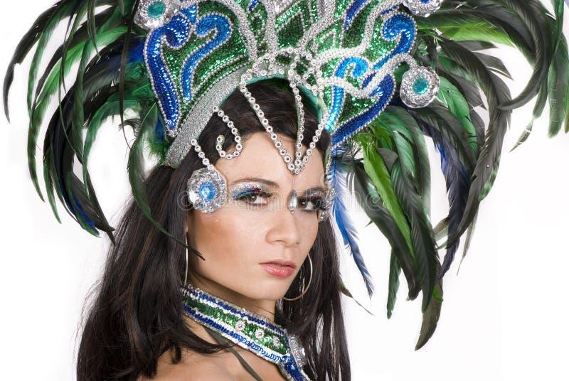 karnevaldansare arkivbild
