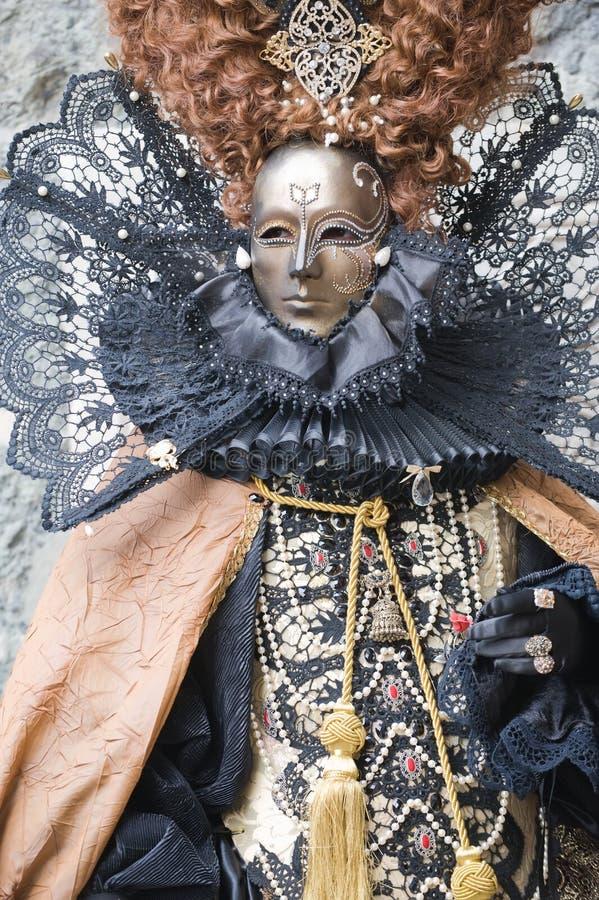 karnevaldrottning fotografering för bildbyråer
