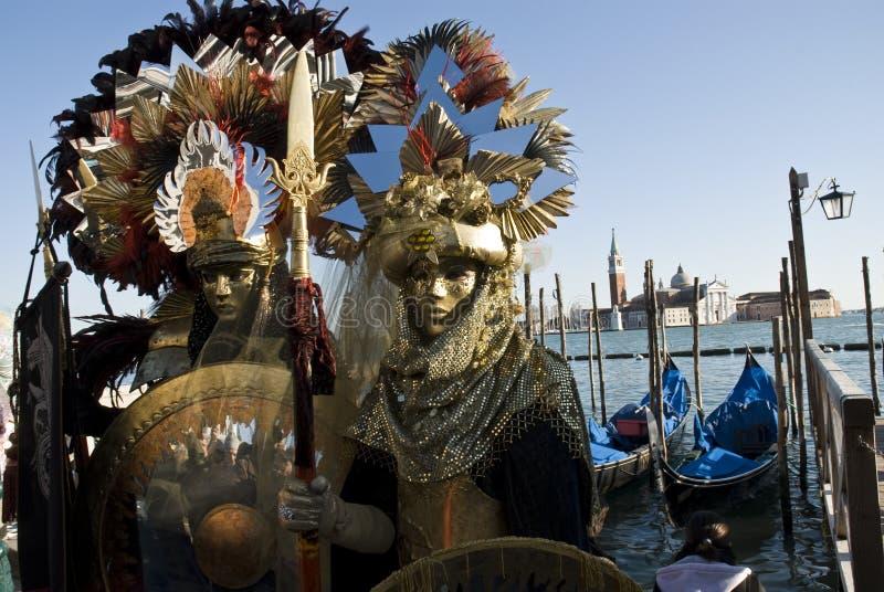 karnevalet förbunde venice arkivbilder