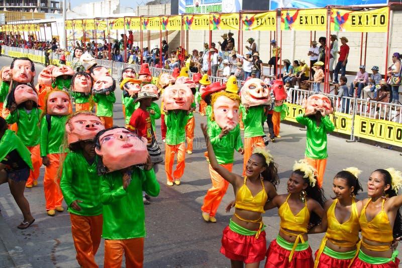 karnevalet ståtar royaltyfria bilder