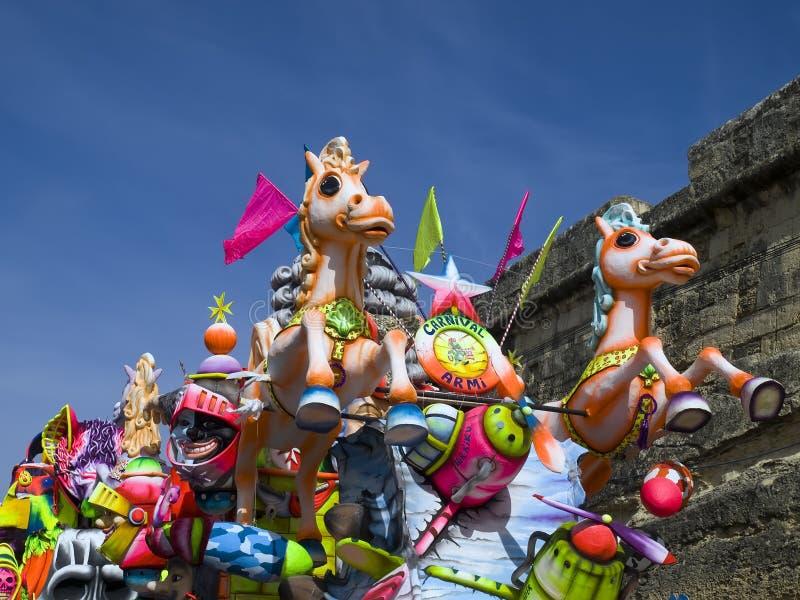karnevalfloat royaltyfri fotografi