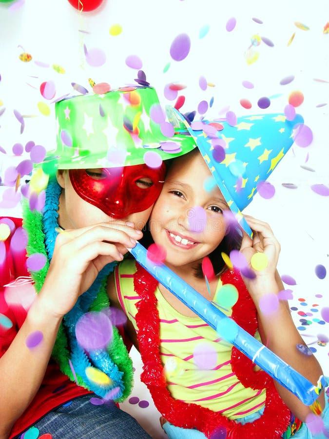 karnevalkidds royaltyfria foton