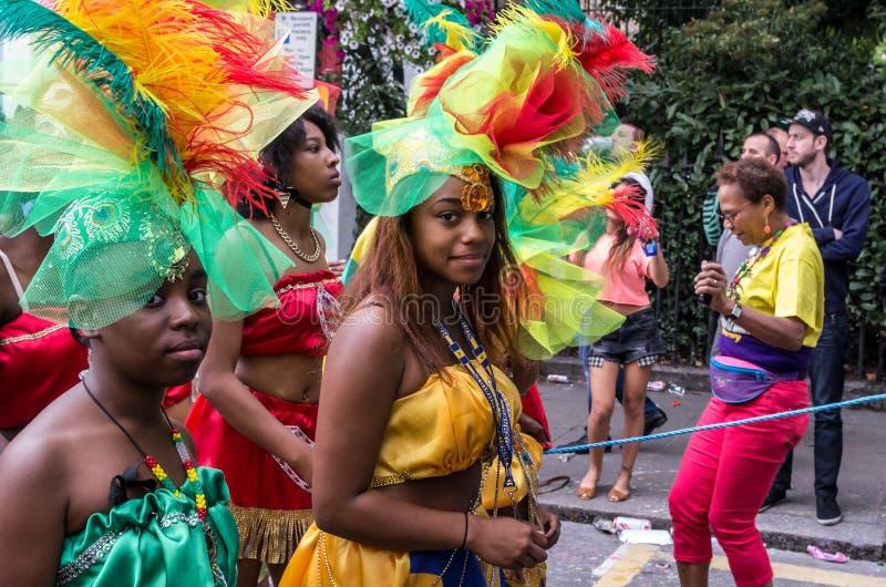 karnevalkull som notting fotografering för bildbyråer